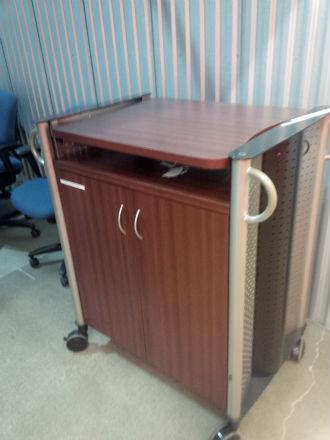 mahogany laminate mobile cart kitchener waterloo used