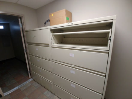 42 WIDE 5 DRAWER LATERAL FILES