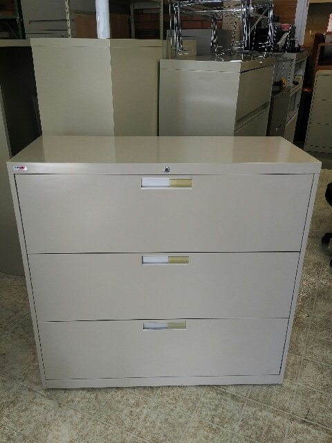 Artopex 3 drawer lateral file ( 42 w. )