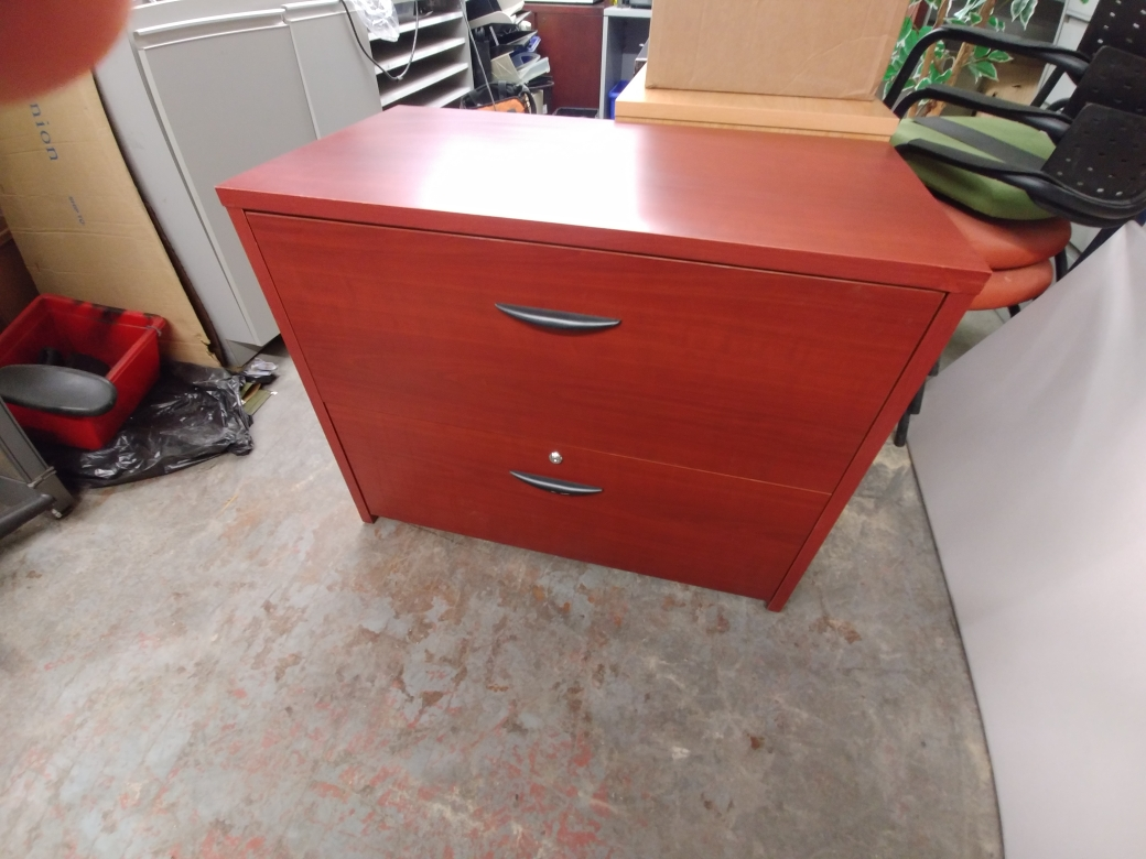 CHERRY LAMINATE 2 DRAWER LATERAL