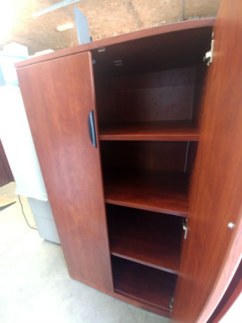STORAGE CABINETS WITH DOORS - LAMINATE