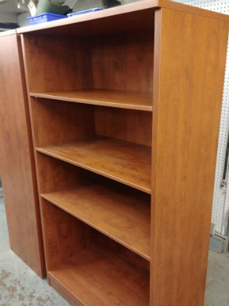 OPEN BOOKCASE UNITS LAMINATE