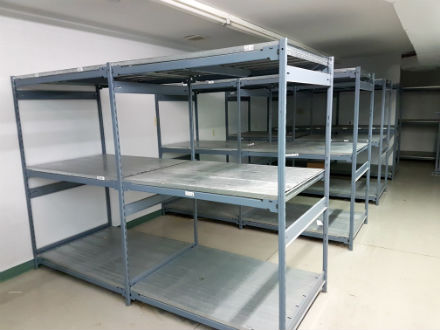 HEAVY DUTY METAL SHELVING UNITS