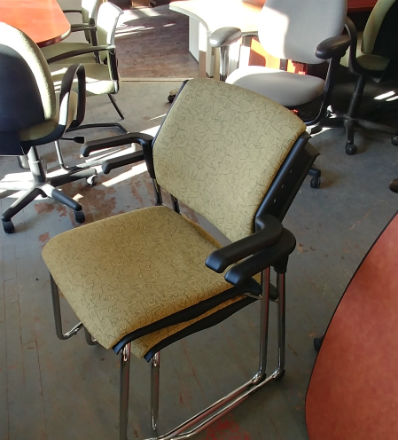 ARM STACKING CHAIRS