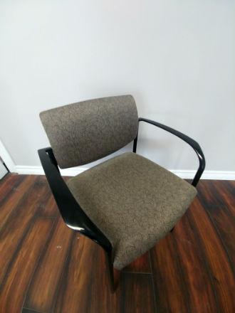 STEELCASE ARM STACKING CHAIR