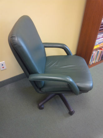 Leather Mid Back Tilter Chairs