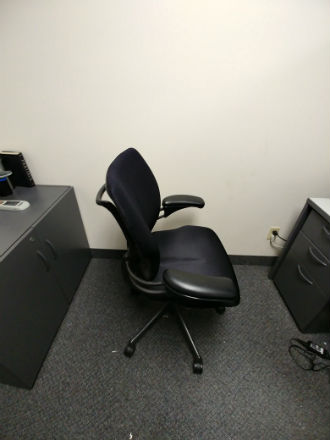 HUMAN SCALE TASK CHAIR BLACK
