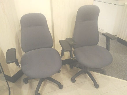 Sylco Mfg. task chairs. High back !