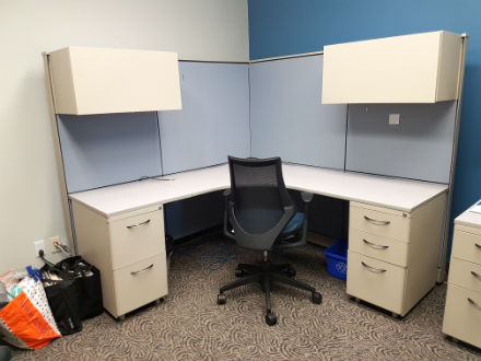 PANEL STYLE WORKSTATIONS 6 X 6