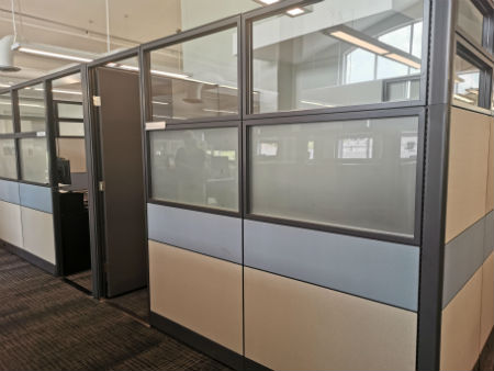 EVOLVE SYSTEM PANELS FOR 2 PRIVATE OFFICES
