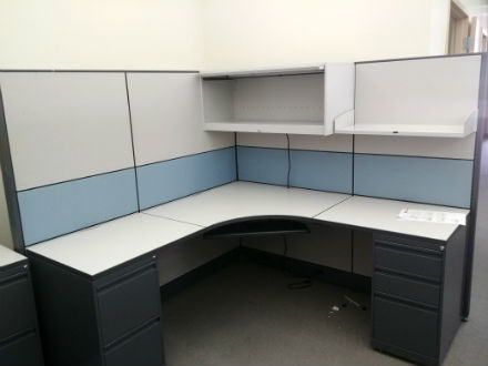 PANEL WORKSTATIONS 6 X 6 WITH ASST PANEL HEIGHTS