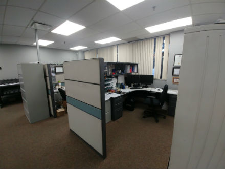 TEKNION PANEL WORKSTATIONS 5 X 7