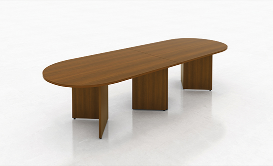 10 x 4 Racetrack Shape Boardroom Table