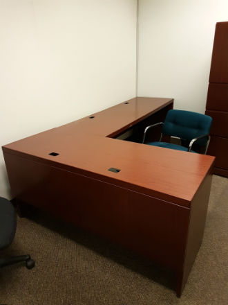Knoll Suite Mahogany Kitchener Waterloo Used Office Furniture Guelph Amp Cambridge Area