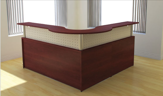 RECEPTION DESK 6X6