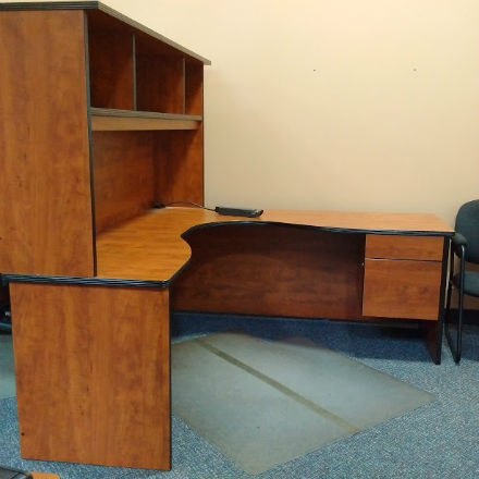 office furniture kitchener corner desk with hutch kitchener waterloo used office