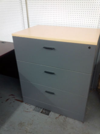 Laminate Lateral File 3 Drawer Kitchener Waterloo Used Office Furniture Guelph Amp Cambridge Area