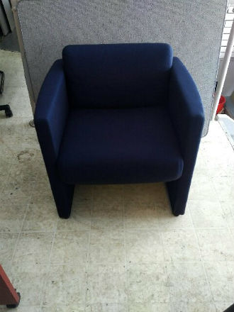 Heavy duty lounge chairs Blue