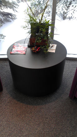 RECEPTION AREA ROUND TABLE